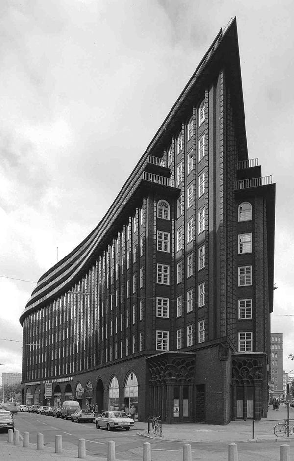 Hamburg-Altstadt, Burchardplatz: Chilehaus