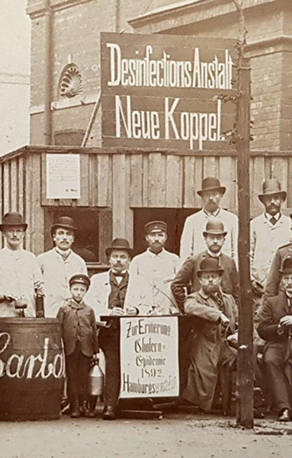Hamburg in Zeiten der Cholera